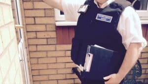 Bailiff Training on doorstep