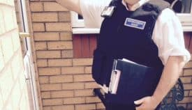 Bailiff Training on doorstep